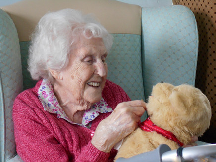 Our visit to Edgcumbe Dementia Unit, Mount Gould Hospital