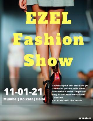 EZEL Fashion Show Post