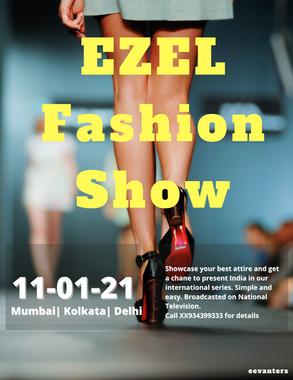 EZEL Fashion Show Poster & Ad