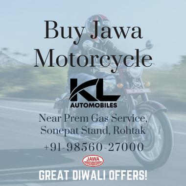 Jawa Motorcycle Ad Campaign