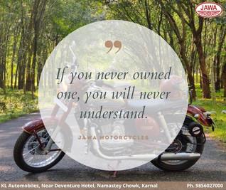 Jawa Motorcycle Dealer Post