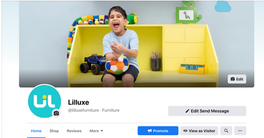 Lilluxe Brand Page on Facebook