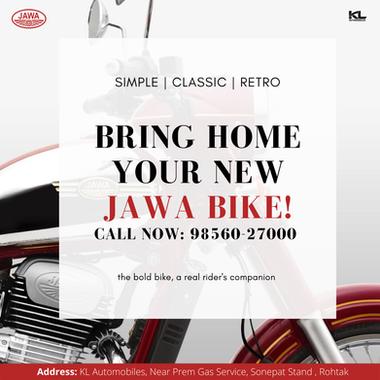 Jawa Motorcycle Post
