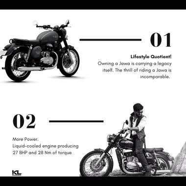 Jawa Motorcycle Carousel Ad
