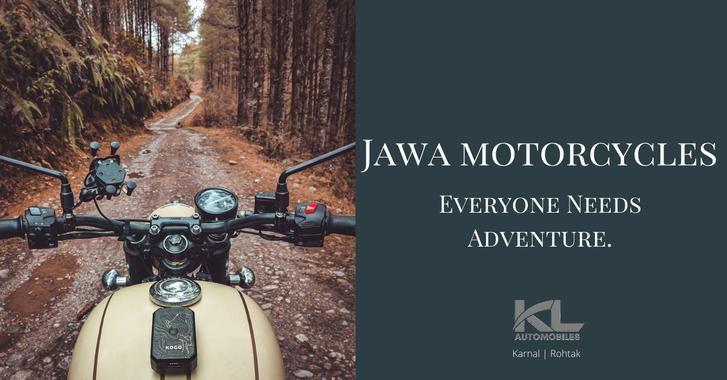 Jawa Motorcycle Social Media Post