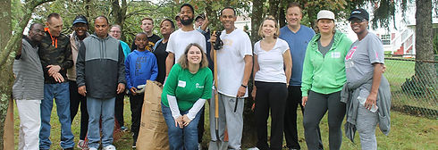 """April at Ardmore"" volunteer team"