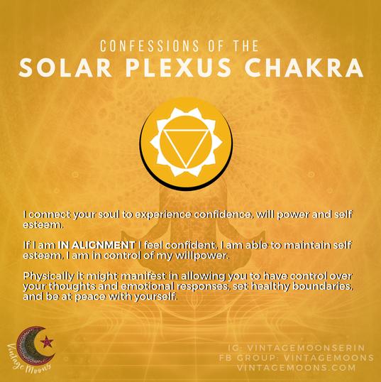 Solar Plexus Chakra In Alignment