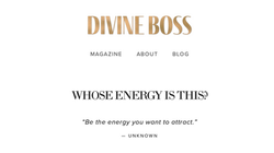 Divine Boss Blog Collaboration