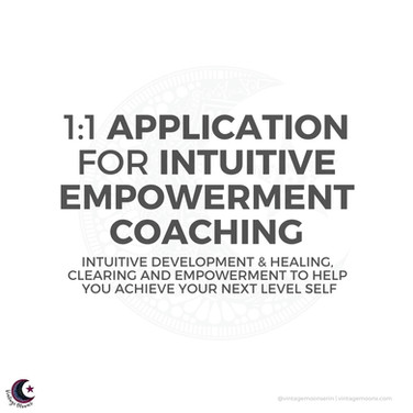 Intuitive Empowerment Coaching