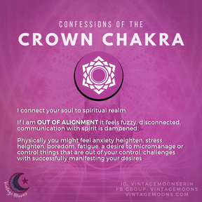 Crown Chakra Out of Alignment
