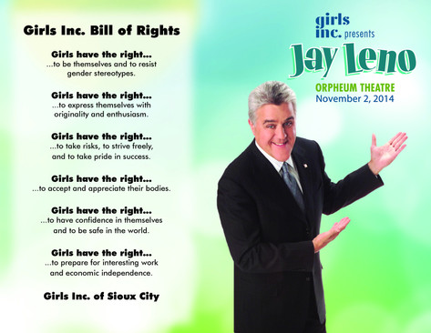 Event Booklet Girls Inc