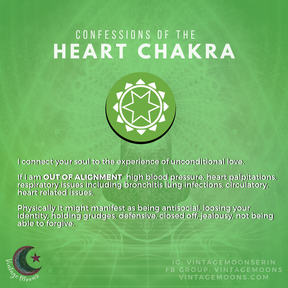 Heart Chakra Out of Alignment