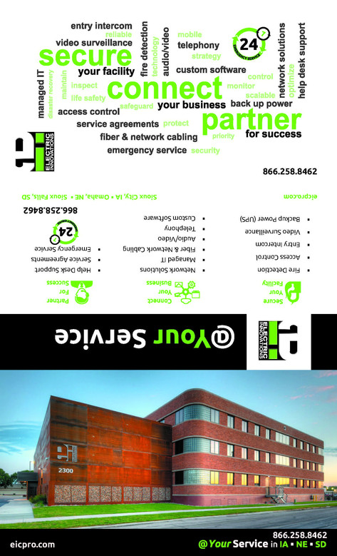 Electric Innovations promotional brochure