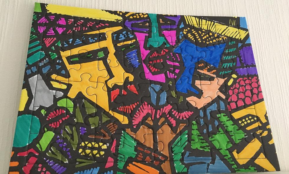 Jam Session de Oshea - 48 pièces à colorier