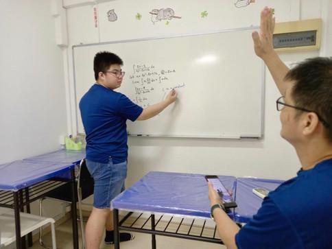 KII's Student Mentor; James Huang