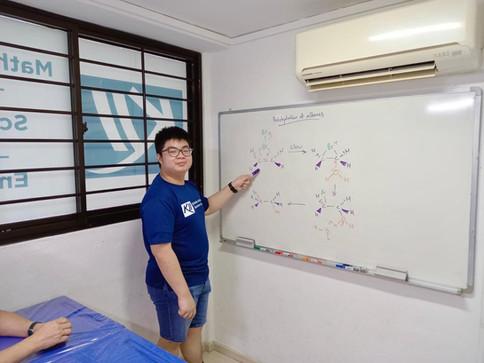 KII's Student Mentor, James Huang