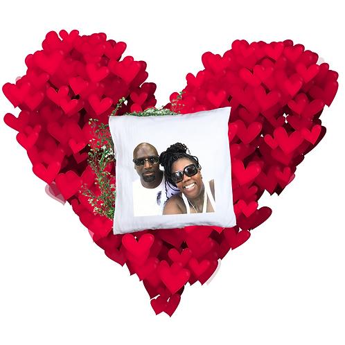 Custom Valentine's Pic Pillow