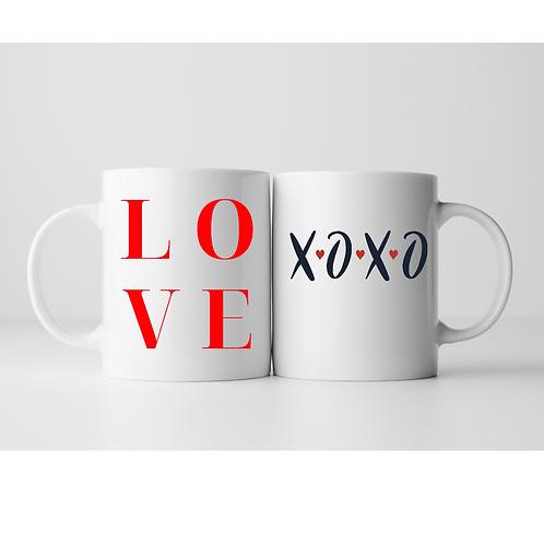 Dream Valentine's Collection Mugs