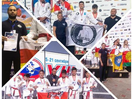 Всероссийском турнире по рукопашному бою в рамках XIII Всероссийских детско-юношеских игр