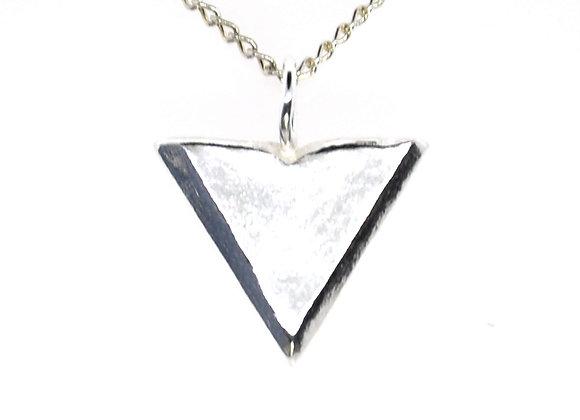 Silver Arrowhead Pendant