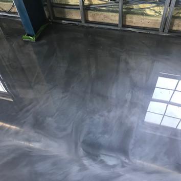Custom Grey Metallic