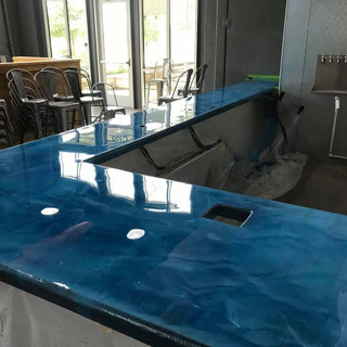 Custom Epoxy Countertops