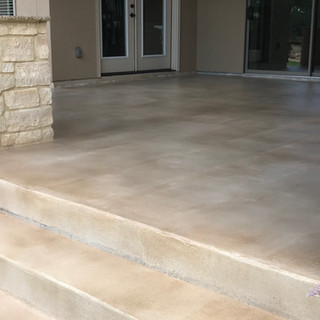 Custom Patio Stain