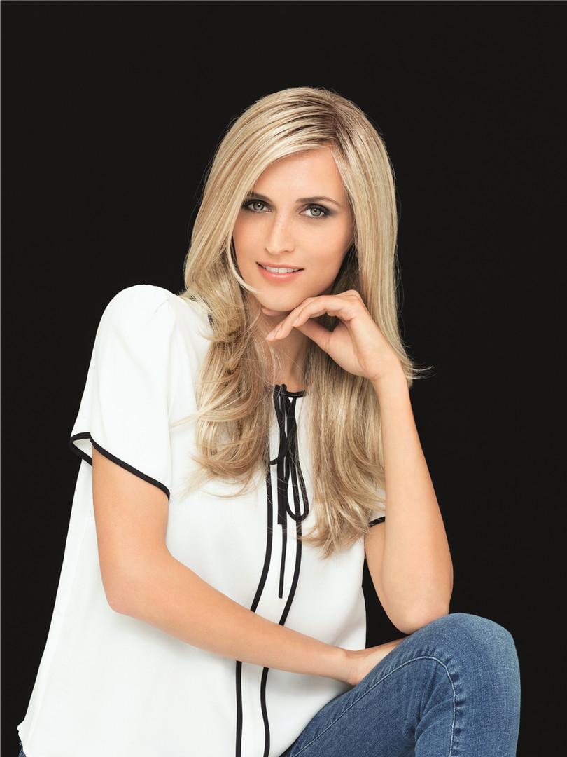 Blonde Perücke Gisela Mayer