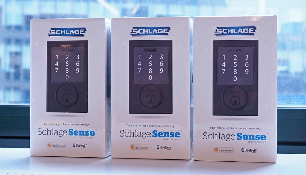 Schlage Smart Locks are in stock, Lock Stop and Key.