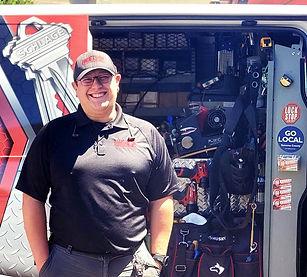 Tyler Martinez locksmith security technician, security camera, ada operator, magnetic locks, electro