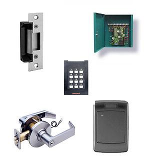 Access Control, card reader, Electrnic latch, electronic key pad, button key, keyless entry