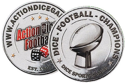 Football super bowl trophy coin is back! Get yours!