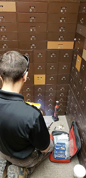Safe deposit box, lock out safe, lost keys safe deposit box, lock stop and key, missing keys, bank keys, open safe box