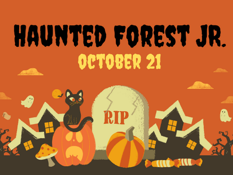 What is Haunted Forest Jr.?