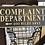 Thumbnail: Complaint Department Decor Sign