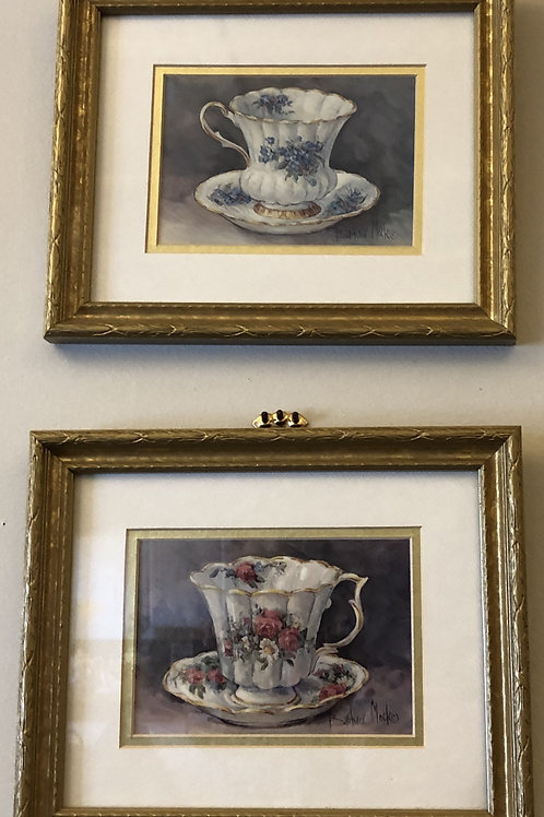 Tea Cup Picture Set (Small)