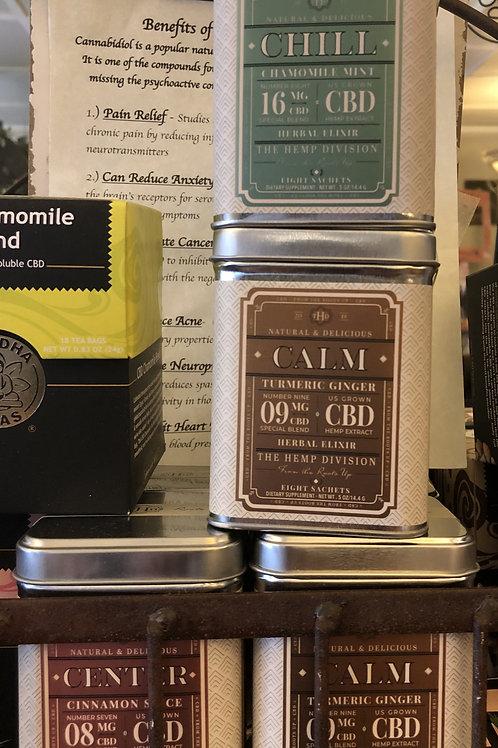 CBD Teas Natural and Delicious