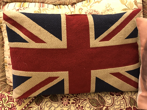 English Flag Pillow