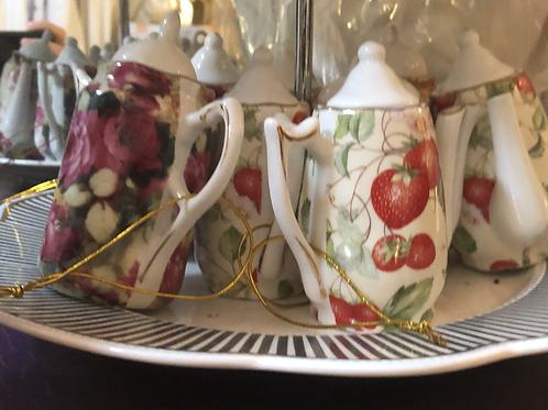 Tea Pot Ornaments