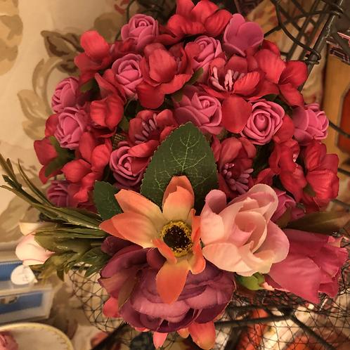 Floral Victorian Hat