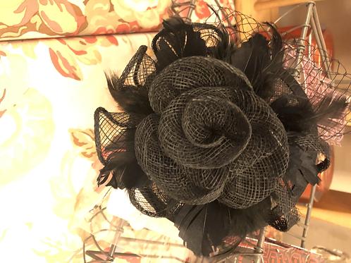 Black Headpiece