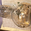 Thumbnail: Clear/Gold Bedside water carafe
