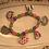 Thumbnail: Childrens Elastic Tea Room Bracelets