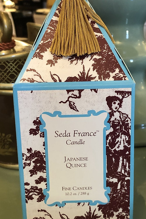 10.2oz Seda France Candle Japanese Quince