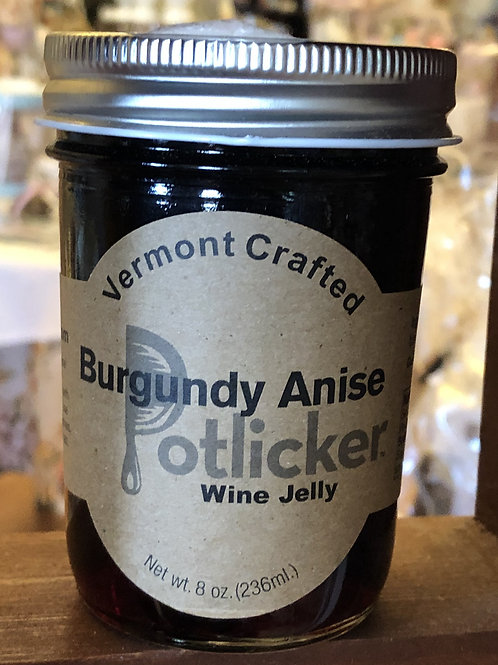 Burgundy Anise Wine Jelly