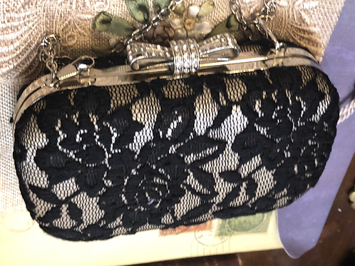 Black Lace Purse