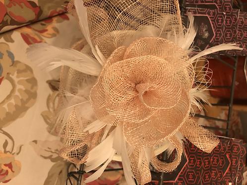 Pink Victorian Headpiece