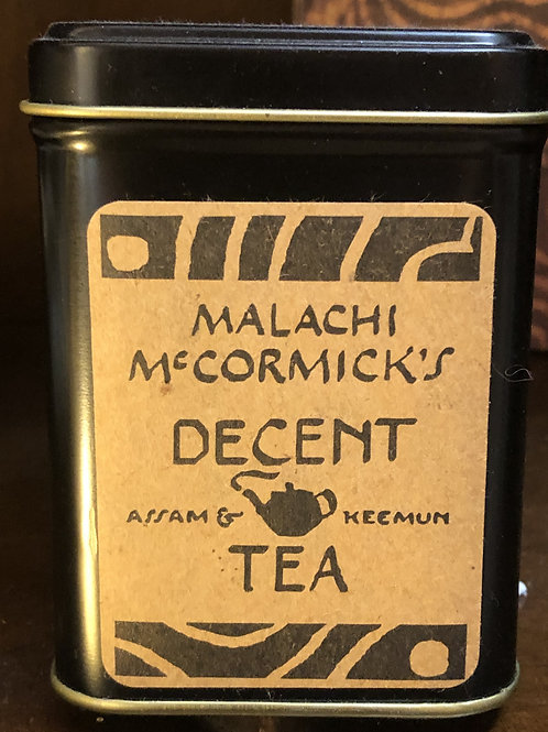 Malachi McCormick Decent Tea