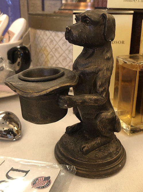 Royal Dog Candle Holder