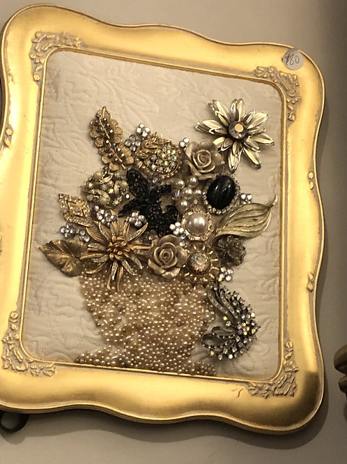 Jewelry Art in Frame